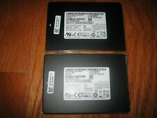 Lot of 2 Samsung 256GB SSD Solid State Hard Drives for Laptops