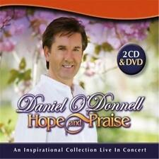 DANIEL O'DONNELL HOPE AND PRAISE 2 CD & DVD ALL REGIONS PAL NEW