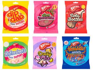 Barratt Dolly Mix wham mini strawberry dib dab cola bottles fizzy softy sweets
