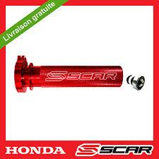 BARRILET DE GAZ ALU + ROULEMENT HONDA CRF 250 450 CR250F CR450F ROUGE SCAR