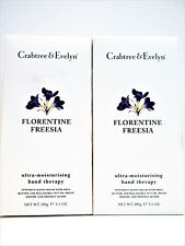 Crabtree & Evelyn Florentine Freesia Hand Therapy 3.5 oz/100 g, New x 2