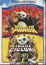 Kung fu panda e I segreti dei cinque cicloni 2 DVD