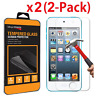 2 PACK Tempered Glass Screen Protector for Apple iPod Touch 5 6 5th 6th Gen