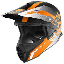 Shark Varial Cólera Naranja MX Motocross Enduro Moto de Cross Casco