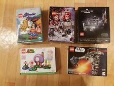 New, 2020 Lego SDCC / Fandome USA Exclusives: 77904, 77905, 77906, 77907, 75294