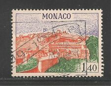 Monaco #792 (A116) VF USED - 1971 1.40fr Aerial View Of Palace Of Monaco
