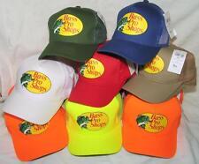 Bass Pro Shops Mesh Adjustable SnapBack Trucker Baseball/Fishing Hat Cap