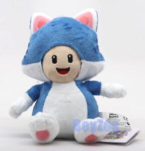 "Cat Toad Plush 8"" Super Mario Bros 3D World Little Buddy 1374"