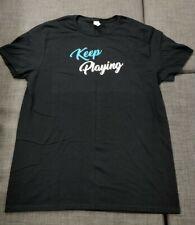 Logitech Keep Playing, T Shirt, Adult M | PAX West + Free Random PAX Lanyard