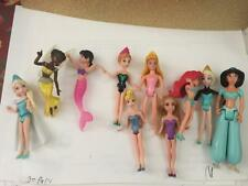 Disney Princess LOT  DOLLS Polly Pocket Magiclip  GLITTER AND OTHERS