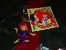 RANMA 1/2 - Female Ranma Keychain - RUMIKO TAKAHASHI - Banpresto 1996 w/ Tag