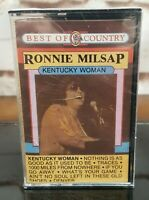 Ronnie Milsap Kentucky Woman Cassette Tape Starday Best of Country