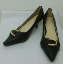 Unbranded Women's Composition Leather Stiletto Heels