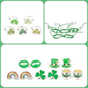 🍀NEW RELEASE🍀Paparazzi St. Patrick's Day 15pc Starlet Shimmer  Set