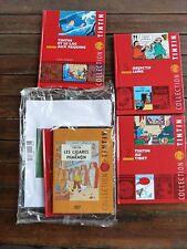 Collection Tintin -1 DVD + 1 livre + 1 planche Les cigares du pharaon + 3 livres