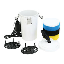 100 Gallon Aquarium  9W UV Sterilizer 105 GPH HW-603B Fish Tank Canister Filter