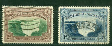 Southern Rhodesia 1935-41, Victoria Falls, SC# 37-37a, P14, Used, 2658