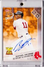 Rafael Devers Red Sox Autograph 2017 Topps Now RC All Star Rookie OS13F 5/5 AUTO