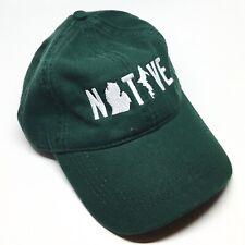 Hat - Michigan NATIVE Unstructured Green