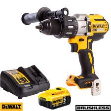 DeWalt DCD996N 18 V XR Sans Balai Marteau Combi Perceuse + 1 x Batterie 5.0Ah & Chargeur