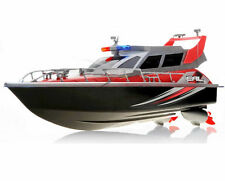1:20 Police Patrol Cruiser RC Boat Electric Remote Control 4CH RTR Red