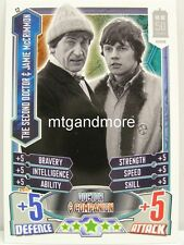 #C02 The Second Doctor & Jamie McCrimmon - Alien Attax Doctor Who - 50th Anni