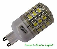 G9 24 SMD LED 240V 3.8W 350LM WARM WHITE (3000K) DIMMABLE BULB WITH COVER ~50W