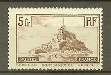 """FRANCE STAMP TIMBRE N° 260a """" MONT SAINT MICHEL 5F TYPE I """" NEUF xx TB"""