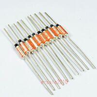 10 PCS NEC SEFUSE Cutoffs SF139E 142 °C 10A 250V Thermal Fuse Microtemp NEW A101