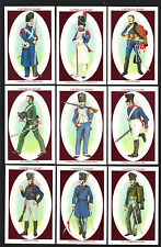CIGARETTE CARDS. Castella Cigars.SOLDIERS OF WATERLOO (Large).(1995).(Set of 30)