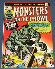 Monsters On The Prowl #28 June 1974