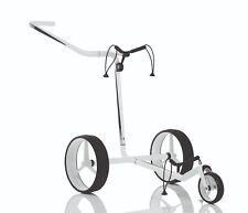 JuCad Carbon 3-Rad - der superleichte Trolley incl. Tasche Neu! weiß-schwarz