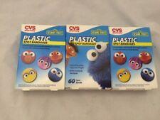 (3) Sesame Street Children's Bandages, 60x3 Sterile Bandages