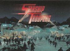 STARSHIP TROOPERS    - 81  card BASE / BASIC  Set BY INKWORKS