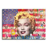 Marilyn- Flag  – Original Painting on Canvas