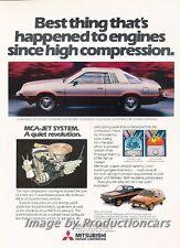 1979 Dodge Mitsubishi Challenger Original Advertisement Print Art Car Ad J744