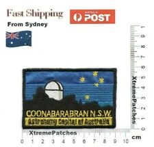 Coonabarabran NSW Astronomy Capital of Australia Embroidered Iron Sew on Patch