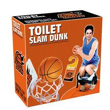 Creative Slam Dunk Toilet Basketball Game Gadget Party Gift Set Novelty 5113HC