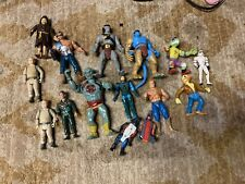 Vintage Lot Of  mixed action Figures Thundercats Ghostbuster