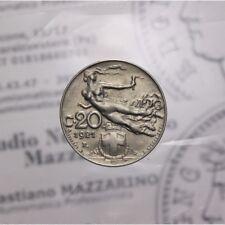 20 Centesimi 1921 Libertà Librata (Regno Ita VE III) qSPL LOT1684
