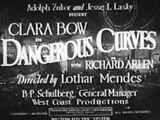 DANGEROUS CURVES (DVD) - 1929 - Clara Bow, Richard Arlen