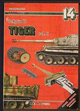 TANK POWER 14 PzKpfw VI TIGER Vol 2 Tadeusz Melleman First Ed 2002 AJ Press SB