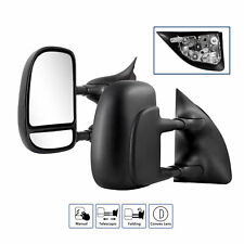 2x Towing Mirror For 1999-2007 Ford F250 F350 Super Duty Manual Fold Blind Spot