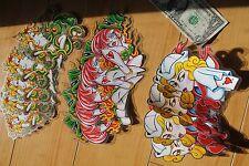 Sexy Girls Sailor Tattoo Fire Octopus Mermaid Clear Vinyl STICKER - Lot of 15