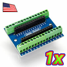 Screw Terminal Expansion Adapter Board for the Arduino Nano V3.0 AVR ATMEGA328P