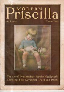 1929 Modern Priscilla April - Children's furniture and underwear; oil stoves