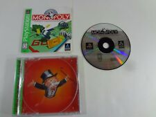 Monopoly Greatest Hits PlayStation 1 PS1 **TESTED & WORKING** COMPLETE FREE SHIP