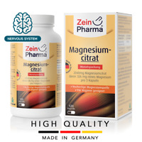 Magnesium citrate 680 mg (120 capsules) healthy muscle physical ZEINPHARMA