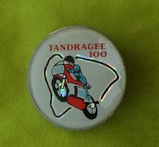 More details for 1970's tandragee 100 motorcycle bike badge pin