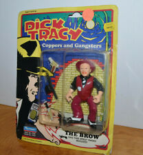 """Vintage Dick Tracy The Brow Action Figure Moc Playmates 1990 4.5"""""""